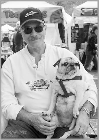 A Man & His Pug