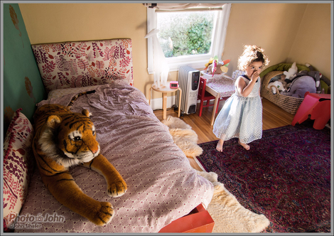 Little Princess & The Tiger