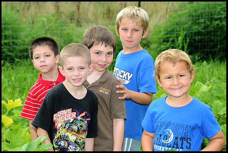 Five of the Grandsons