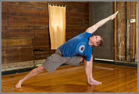 Yoga Pose - Nikon D4 - ISO 3200