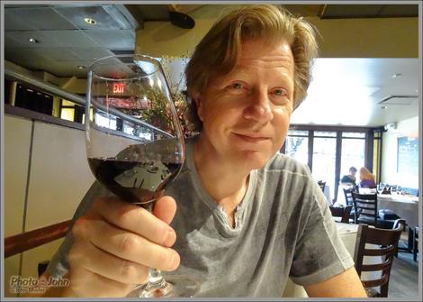 Brad Trent Likes His Wine