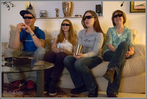 Watching A 3D Movie