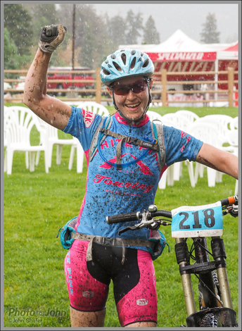 Jenni's First Mountain Bike Race