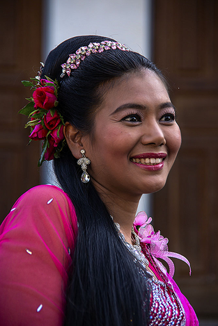 Myanmar beauty