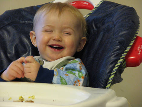 Grandson - Christmas 2007