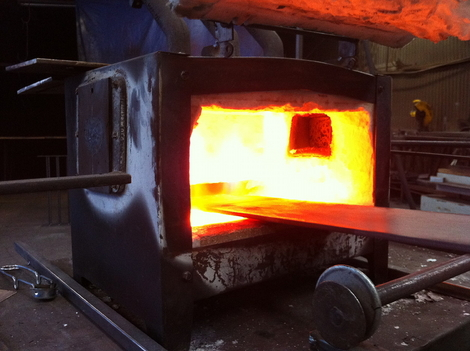 Heat... 1800 ° F