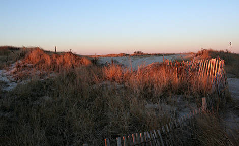 early Jan. morning Jones Beach