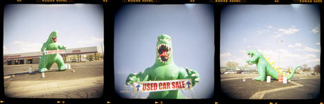Godzilla Was A Used Car Salesmen...