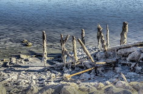 Bombay Beach California © 2014 Aungwin