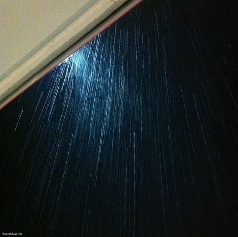Good morning...Rain