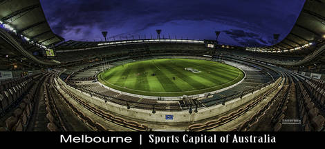 Melbourne Cricket Ground - MCG or The G.