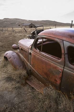 Old Bodie Car