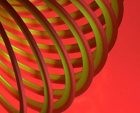 Orange Slinky