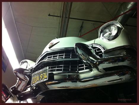 In 1955... Cadillac...