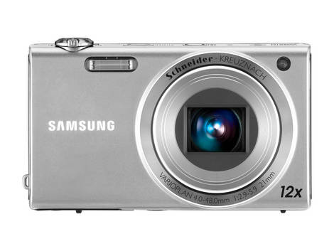 Samsung Digital Camera WB210 Silver_Front