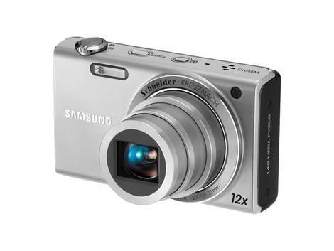 Samsung Digital Camera WB210 Silver_Back side