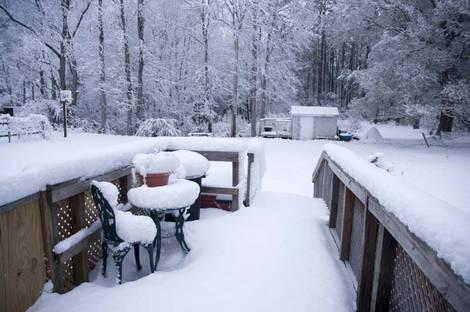 Snow In Coastal NC, AKA The Blizzard Of 2010