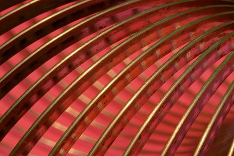 Steel Slinky In Red