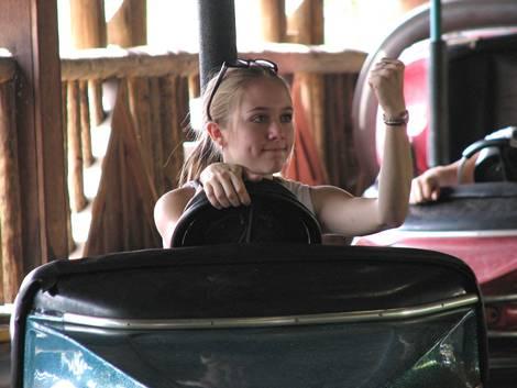 Teenage Woman Driver