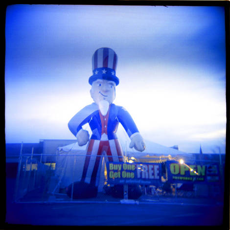 Uncle Sam Characture...