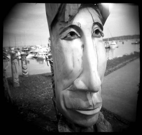 Carved Face...