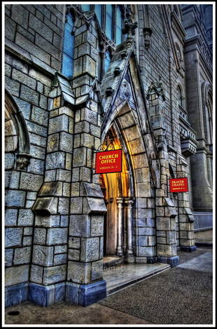 Philly Cathedral - and a Photomatix Question