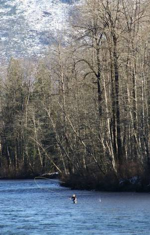 Fisherman Skagit River