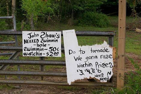 John Shaw's Sign
