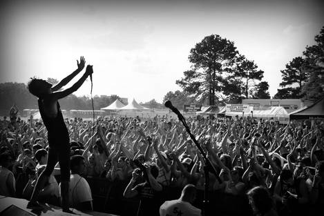 The Maine at Warped Tour