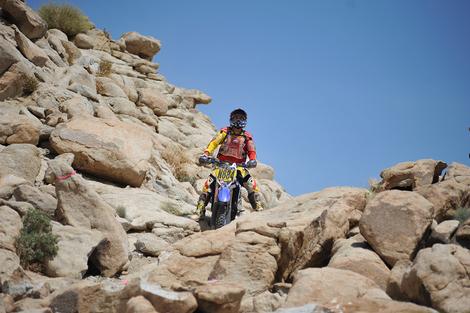 Rocky Dirt Biker