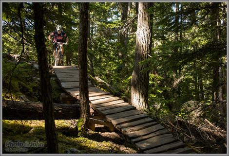 Whistler Lost Lake MTB Action