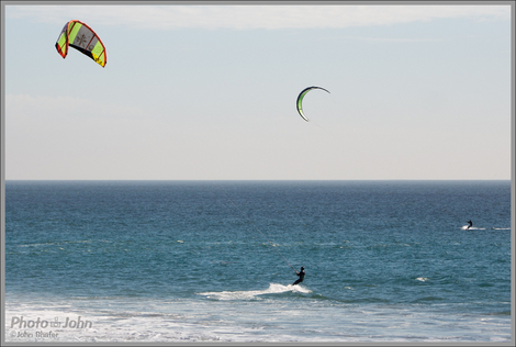 Kiteboarding Action - Sony NEX-6 With LA-EA2 Mirror Adapter