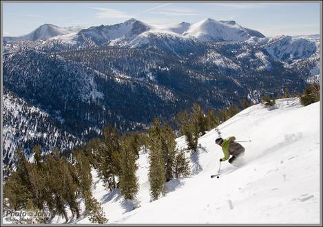 Lake Tahoe - Heavenly Ski Backcountry