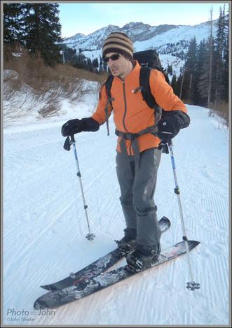 New Year's Eve Ski Tour With Zerodog