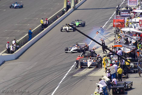 Indy 500 - 94th Pit Action III