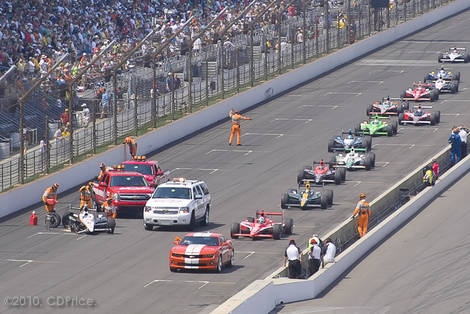 Indy 500 - 94th Pace Car in the Lead
