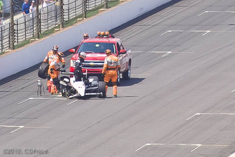 INDY 500 - 94th Crash