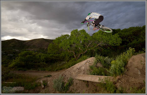 Dirt Jump Test Session - Sigma 8-16mm Zoom