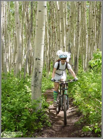My Mountain Bike Bride