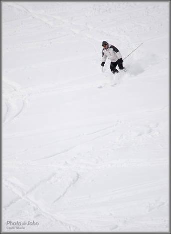 Olympus Pen 75-300mm Lens Ski Photo