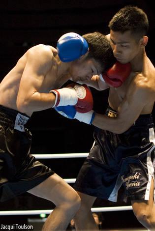 Kameda boxing match