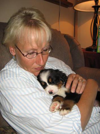 Tucker and Mom