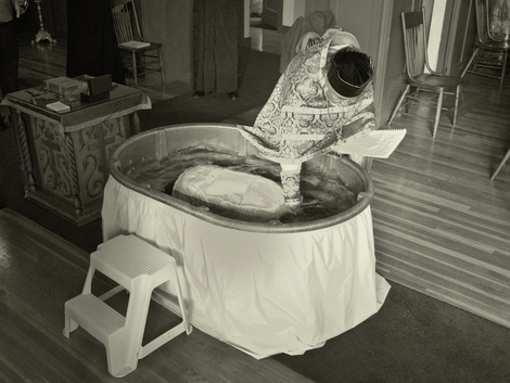 Russian Orthodox Baptism