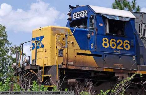 CSX Engine 8626