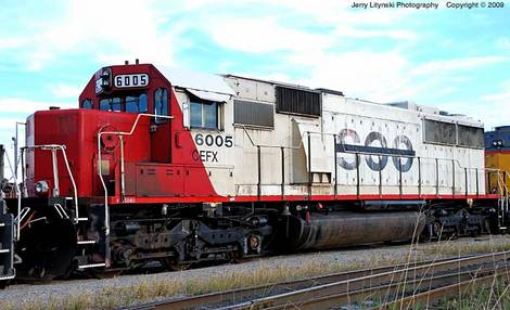 A Soo Line freight engine