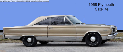 A 1968 Plymouth
