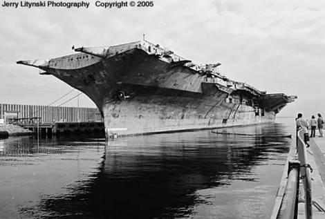 The U.S.S. Oriskany CV/CVA 34