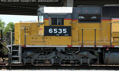 Norfolk-Southern [NS] Engine No. 6535