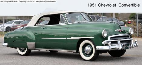 A 1951 Chevrolet