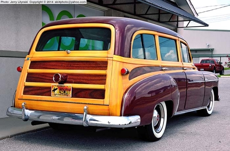 A 1949 Chevrolet